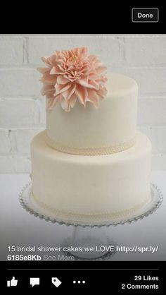 Bridal shower cake ?