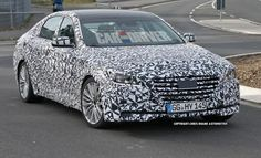 We capture a 2014 Hyundai Genesis being tested in Germany. See the photos and read more at Car and Driver.