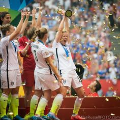 US Women - World Cup Champions: Photos - Sounder At Heart