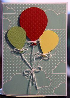 ballon kort - balloon card
