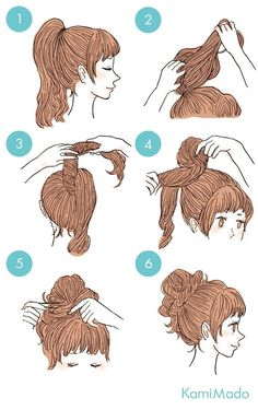 10 coques fáceis de fazer durante o verão – Passaneura 10 easy bun to make your hair during the summer. Cute Simple Hairstyles, Diy Hairstyles, Summer Hairstyles, Hairstyle Ideas, Two Buns Hairstyle, Easy Everyday Hairstyles, Kawaii Hairstyles, Curly Hair Styles, Beauty Tutorials