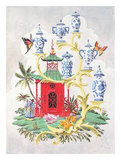 Rococo Fantasy // Harrison Howard