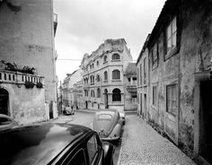 Lisboa de Antigamente: Edifício da Casa dos Açores Lisbon, The Incredibles, History, Street, Places, Travel, Funny Things, Buildings, Photographs