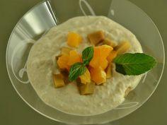 Crema_de_mango_cu_biscuiti_digestivi_si_mandarine Mexican, Ethnic Recipes, Food, Red Peppers, Meals, Yemek, Eten