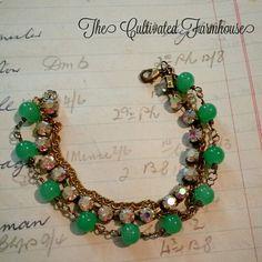 Love this vintage style bracelet!!