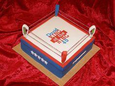 David's boxing ring birthday cake by Crazy Cake - Cakedesigner57, via Flickr