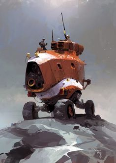 by Ian Mcque JF47S 'Jaffa'.