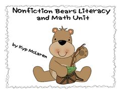 This is a nonfiction unit I have used with 1st and 2nd graders for teaching students about 3 different types of bears. There are over 40 pages of activities included in this unit.