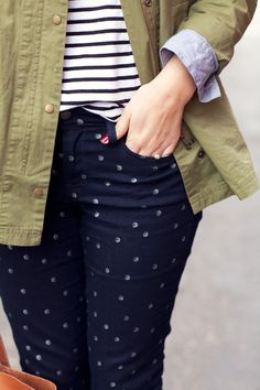 Dots + stripes + cargo