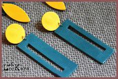 Orecchini in pelle LK-Lockers, modello Eirene