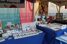 Great ideas for jewelry and craft display booths