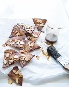 Sweet Pita Chips with Brown Sugar & Honey