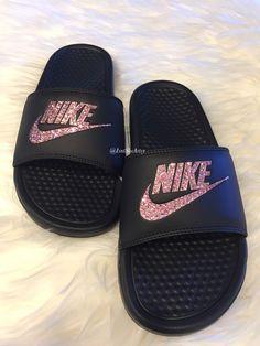 Nike Tennis Shoes, Adidas Shoes, Vans, Nike Slippers, Womens Slippers, Nike Slides Mens, Nike Benassi Slides, Jordan Shoes For Women, Huaraches
