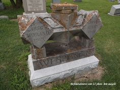 The Wespisser Marker (2/2) at the Mt. Olivet Cemetery, Oxford, Ohio (c) The Funeral Source, photo: Ken Naegele