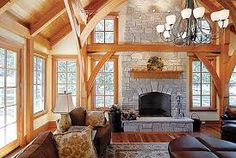 post and beam house - Google Search