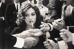 love the part in old movies when a women takes out a cigarette...