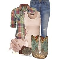 Country Chic...OMG! Totally perfect!