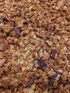 We use our homemade granola in our Yogurt Parfait. Perfect start to your day :: Rolling Scones Bakery & Cafe located in Goshen, IN
