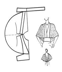 Разработка новых моделей одежды с использованием базовых конструкций (Учеб. пособие): 2.4. Приемы конструктивного моделирования четвертого вида »
