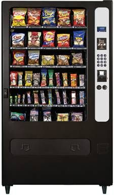 I would also have vending machines that held everything and anything I wanted