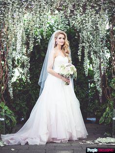 Tanith Belbin Wedding gown
