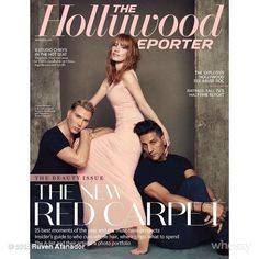 Jessica Chastain Covers 'The Hollywood Reporter'