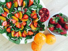 Tangelo and Strawberry Salad