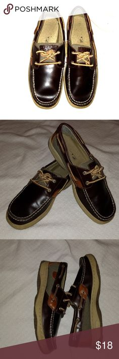 Boys Casual Shoes Brown leather shoes Sperry Shoes Slippers