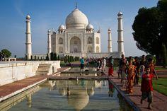Wonderful India! Taj Mahal by Albert Parera Barón, via 500px