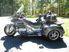 trike motorcycles honda goldwing GL1800