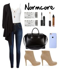 """""""Normal"""" by laurindomari on Polyvore featuring Splendid, DKNY, Givenchy, NARS Cosmetics, women's clothing, women's fashion, women, female, woman and misses"""