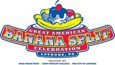 Great American Banana Split Celebraton Latrobe PA - home of the 1st banana split
