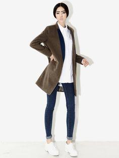Newest and finest #koreanfashion #style #clothes #jeans  Worldwide Shipping www.koreanfashionista.com