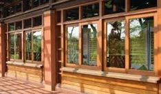 Ideas for house styles exterior timber frames window Wooden Windows, Dark Cabinets, Conservatory, Kitchen Lighting, Beams, Kitchen Remodel, House Plans, Layout, Exterior