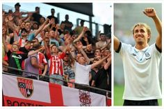 Stoke City video: Sentinel footage of Marc Muniesa dancing along as fans sing his new song