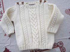 Knit Baby Sweaters, Toddler Sweater, Girls Sweaters, Knitting For Kids, Baby Knitting Patterns, Tricot Baby, Sewing Alterations, Clothes, Images