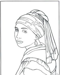 free art history coloring pages - photo#13