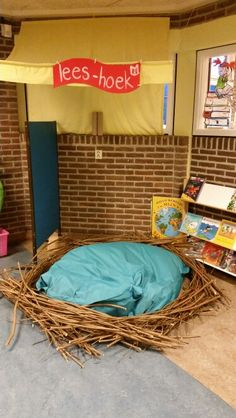 Leesnest Dramatic Play, Art Ideas, Basket, Birds, Science, School, Egg As Food, Bird