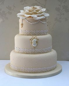 Pride and prejudice wedding cake