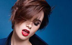 Télécharger fonds d'écran Lily Collins, actrice Américaine, portrait, belle femme, femmes veste