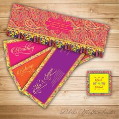 The most unique Indian Wedding Invitation Cards ! Indian Wedding Invitation Cards, Indian Wedding Cards, Indian Wedding Invitations, Big Fat Indian Wedding, Indian Wedding Decorations, Wedding Stationary, Indian Weddings, Birthday Invitations, Real Weddings