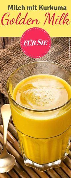 Statt des morgendlichen Kaffees sollten Sie es einmal mit goldener Milch versuchen. Wie einfach Sie diese zu Hause herstellen können, erfahren Sie hier.