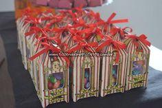 Caixinhas Festa Harry Potter da Manuela