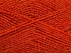 Derby Wool ~ Dark Orange