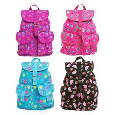 Image for Smiles Go Girl Backpack from Smiggle Sequin Backpack, Drawstring Backpack, Pusheen Cute, School Bags For Kids, Rucksack Bag, Cute Purses, Girl Backpacks, Julia, Manualidades