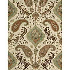 @Overstock - Enrich your home decor with this elegant Alyah rug Fashionable floor rug features a transitional motif Handmade rug is 80-percent wool/20-percent viscosehttp://www.overstock.com/Home-Garden/Handmade-Alyah-Wool-Rug-5-x-76/3418226/product.html?CID=214117 $143.99