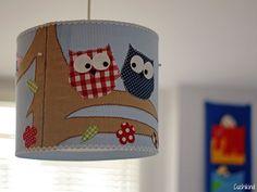Kinderzimmerlampe selbst gemacht