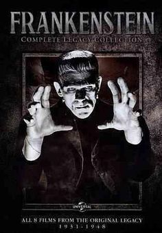 This extensive release for fans of movies about Dr. Frankenstein's legendary monster includes eight feature films such as 1931's FRANKENSTEIN, 1935's THE BRIDE OF FRANKENSTEIN, 1942's THE GHOST OF FRA