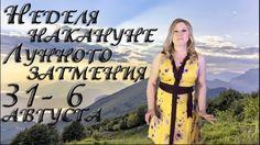 НЕДЕЛЯ НАКАНУНЕ ЗАТМЕНИЯ 31 -6 АВГУСТА 2017. Ведическая астрология