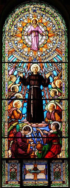 https://flic.kr/p/8Sbh9F | Servites de Marie Stained Glass Window | St. Anthony Catholic Church, Ottawa